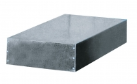 Galvanized sheet metal cover