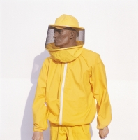 Beekeeper Jacket made of 100% yellow cotton