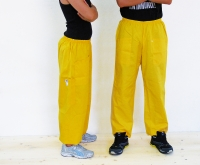 Beekeeper trousers in yellow cotton