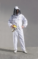 """ASTRONAUTA"" professional coverall made of 100% white cotton"