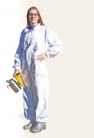 White beekeeper coverall