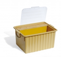 8 honey frame Dadant Blatt container
