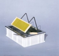 Uncapping tray, 60x40x18 cm, plastic