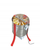 """RADIAL 12"" electric radial honey extractor, stainless steel cage, 12 Dadant super frames, Gamma motor"