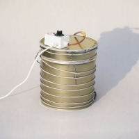 Electric cable, to melt crystallized honey in tins, length 13m