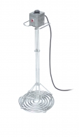 Electrically heated honey liquifier ø33, stainless steel, inox, 600W with handles