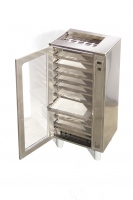 Professional pollen dryer, 10 drawers, stainless steel