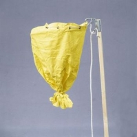 Swarm catcher, with metal ring and cotton sack