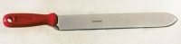 Uncapping knife 28 cm, stainless steel