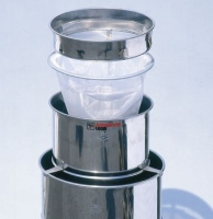 Honey Double strainer of 3 parts diam. 350mm, stainless steel (for tanks 50/100/200 Kg)