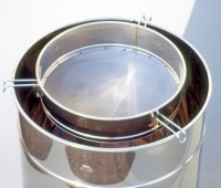 Honey strainer diam. 480mm., stainless steel (for tanks 200/400/1000kg)