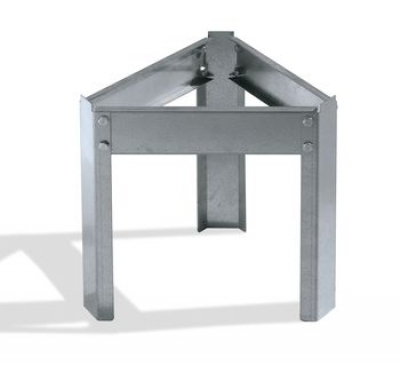 Galvanized support for 50 Kg tank