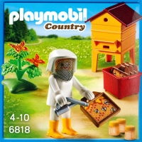​Playmobil - Beekeepers with hives