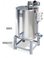 Honey blender, double walled, electric heated, 600 Kg, single-phase motor