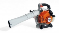 Bee-blower, lightweight and handy, with petrol engine