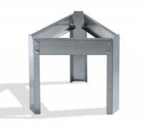 Galvanized support for 200 Kg tank