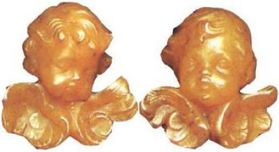 Wax Mould : 2 Putto heads